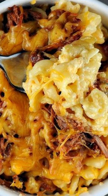 Pulled Pork Mac and Cheese | Recipe from Culinary Concoctions By Peabody