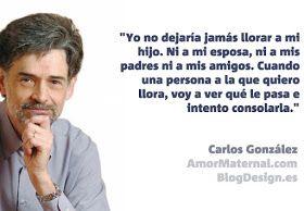 Amor Maternal: 5 Citas memorables de Carlos González sobre crianza