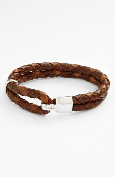 Miansai 'Beacon' Braided Leather Bracelet available at #Nordstrom @Ramon Richardson Huinil