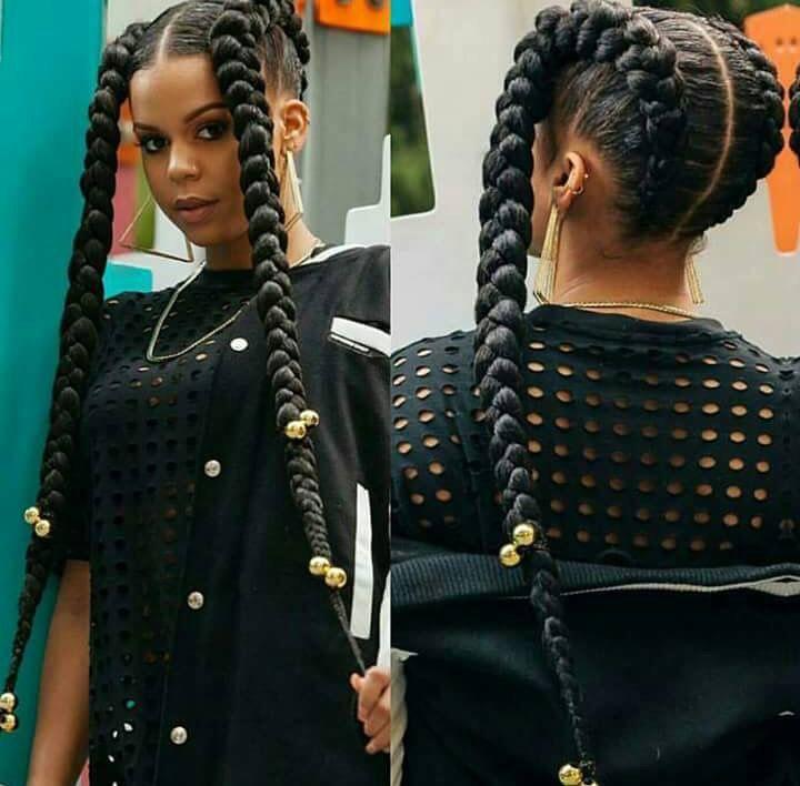 Like What U See Follow Me For More Sanayadiamonds Braids GirlsFunky HairstylesBox