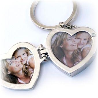 Triple Locket Heart Key Chain #MothersDay