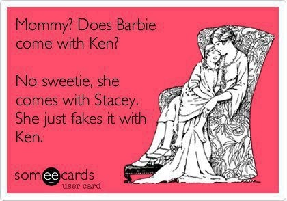 Barbie and Stacey. #lesbian #jokes