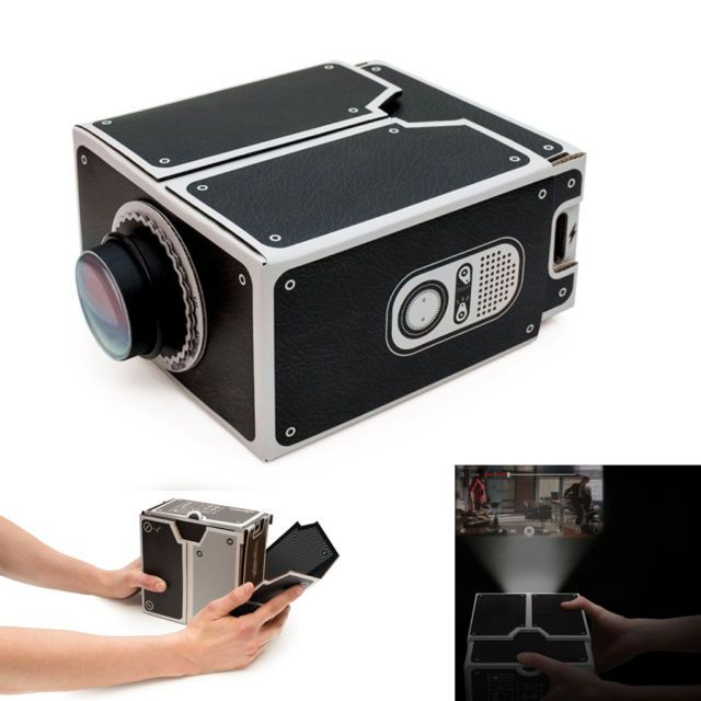 DIY Mobile Phone Projector Portable Cinema—Movie time!