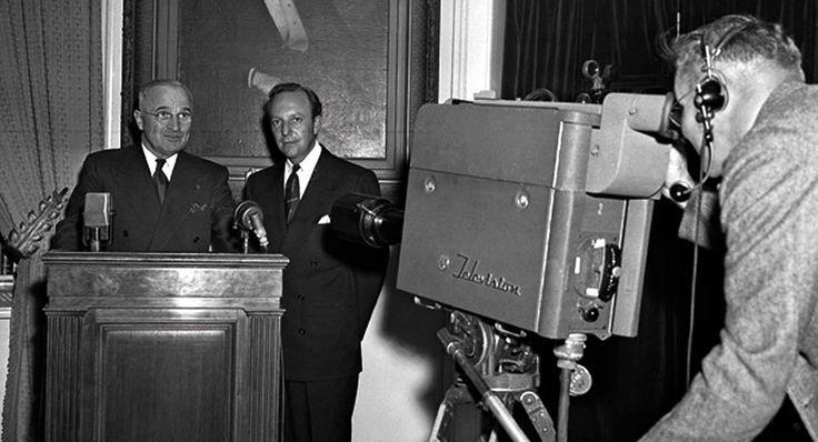 First Presidential Speech On TV | Aluratek Blog