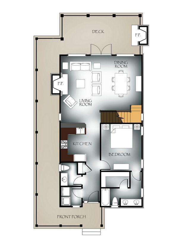 Network Blog Cabin 2009 Vaulted View Lodge Floor Plan Winner