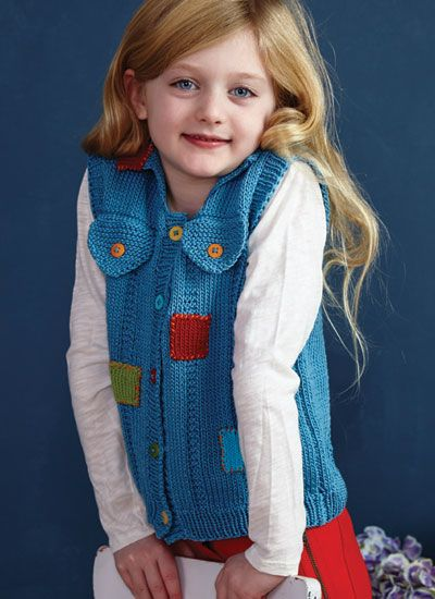 Pattern #6 Patches Vest