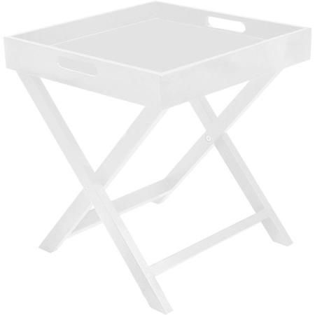Urban Shop Side Table with Removable Tray, Multiple Colors - Walmart.com $19.88