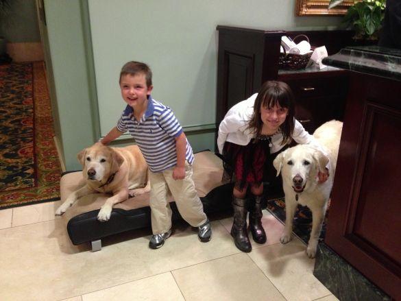 Pet Ambassadors at the Fairmont Hotel Vancouver