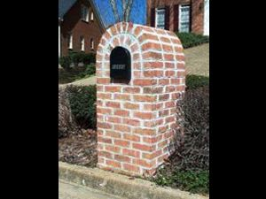 Brick Mailbox Repair Project | Home Repair Handyman