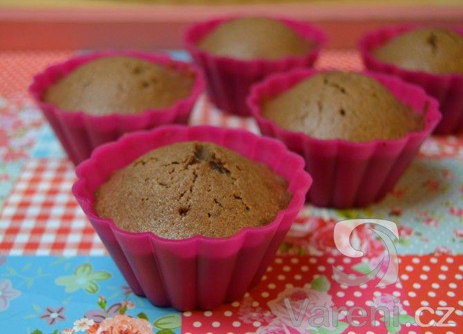Maminčiny kakaové muffiny -