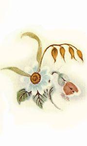 Ceramic Decals Poppy Daisy Wheat Floral Bunch | eBay