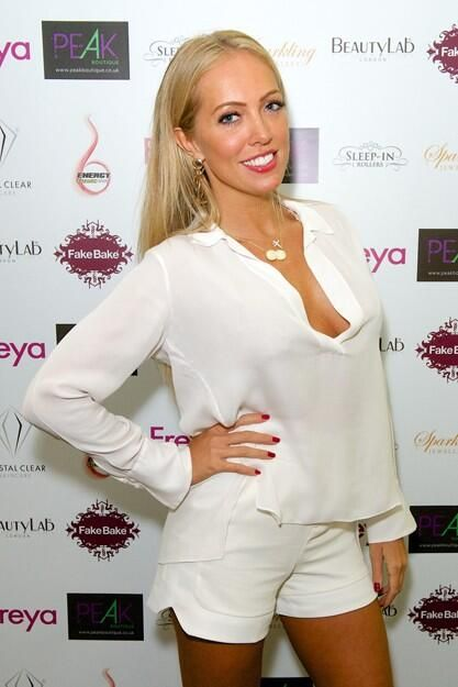 Gorgeous BB star Aisleyne came along to show her support - she looked amazing.