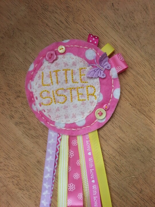 ...and a little sister!