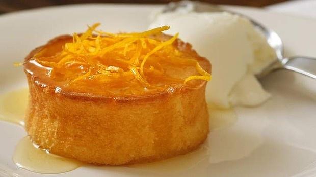 Good Food - Mandarin syrup cakes with Greek yoghurt recipe