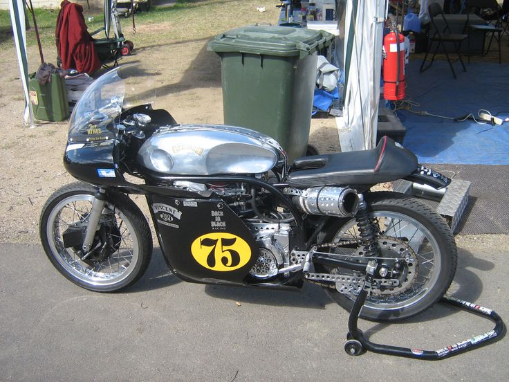 Don't worry, we'll be replacing this nasty old race bike with something 'bright blue & nasty' in the next few months.