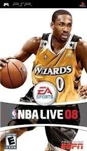 NBA Live 08 - PSP Game