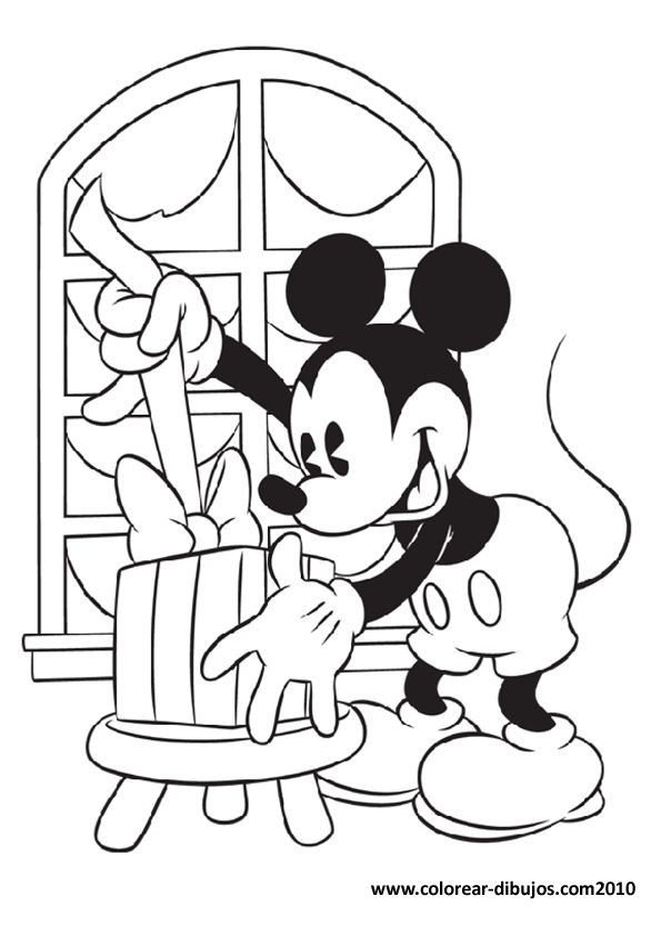 208 best Mickeys coloring pages images on Pinterest  Disney