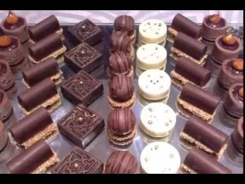 حلوي بدون فرن بالشكلاط والبسكويت بشكل راقي chocolat foureé au biscuits etoix - YouTube
