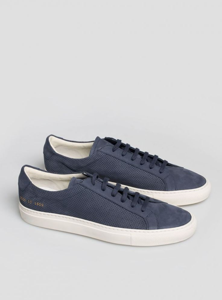 Common Projects Navy Summer Edition Achilles Low Sneakers