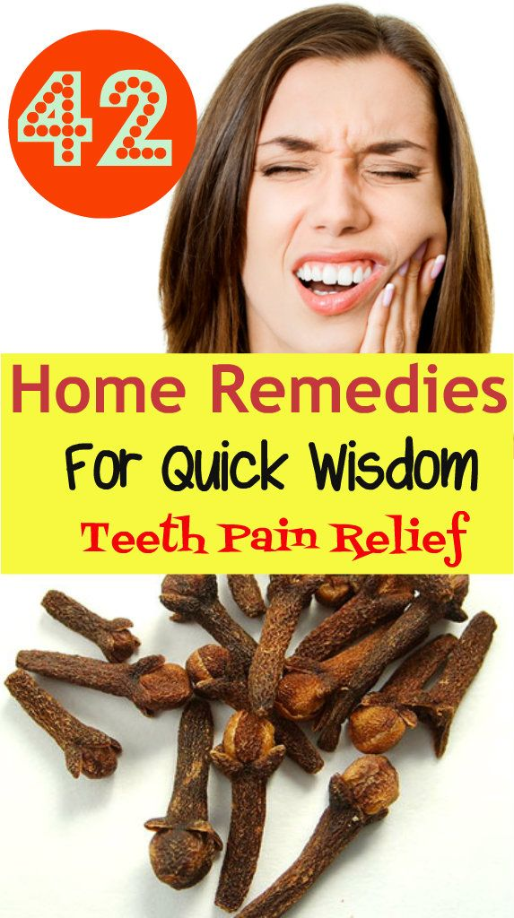 42 Home Remedies for Quick Wisdom Teeth Pain Relief