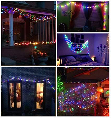 Battery Operated Fairy Lights, EJIKER String Light with 100 Micro