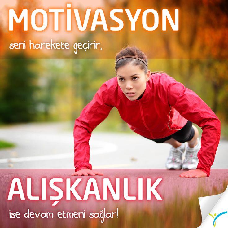 Haftanın ikinci günü de olsa kendin için koyduğun hedefe ulaşman için harekete geçmene engel değil! Hala sevdiğin egzersizi bulabilir, uygulanması kolay sana uygun diyete ulaşabilirsin.  Unutma;  Motivasyon seni harekete geçirir, alışkanlık ise devam etmeni sağlar!