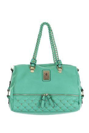 KK EXCL QUILTED ZIP TOTE Strandbags - $139.99