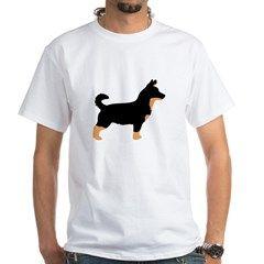 lancashire heeler black color silhouette T-Shirt