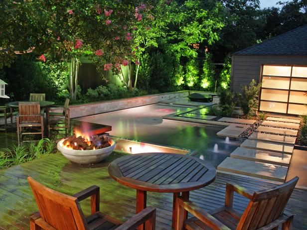 67 best images about cool pools from on pinterest for Backyard patio privacy ideas