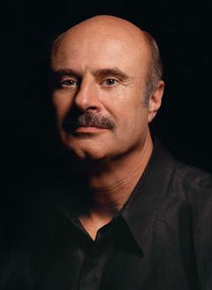 Oklahoman Phillip Calvin McGraw (born September 1, 1950 in Vinita, OK.), best known as Dr. Phil, is an American television personality, author, psychologist, and the host of the television show Dr. Phil, which debuted in 2002. McGraw first gained celebrity status with appearances on The Oprah Winfrey Show in the late 1990s