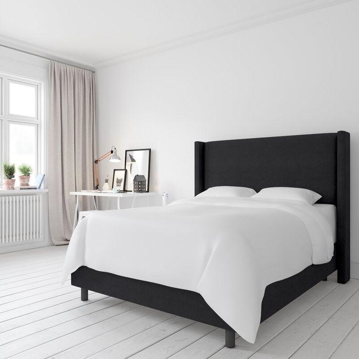 Sanford Upholstered Standard Bed In 2020 Upholstered Panel Bed