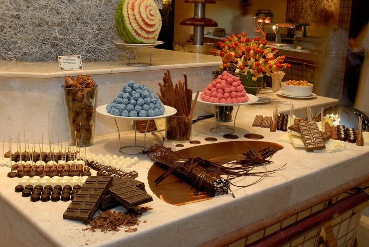 chocolate buffet at gran hotel atlantis bahia real in fuerteventura chocolate pinterest. Black Bedroom Furniture Sets. Home Design Ideas
