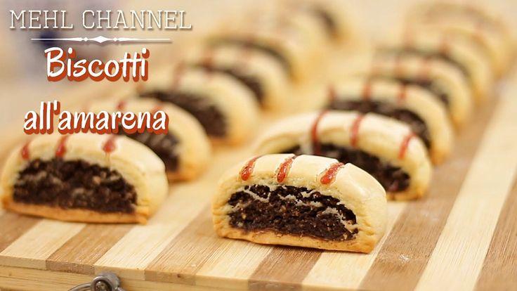 Ricetta Biscotti all'amarena - Biscotti napoletani  | Mehl Channel