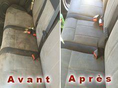 Comment nettoyer efficacement les sièges de votre voiture ?et Ça marche nickel…