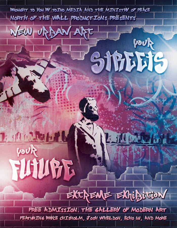 Your Streets, Your Future - Urban Flyer / Poster by martinemes.deviantart.com on @DeviantArt