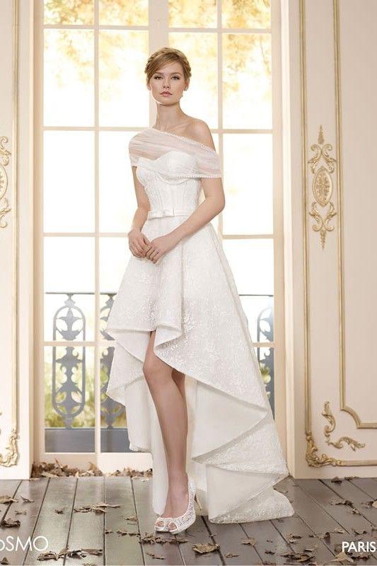 Villais Cosmo Wedding Dress Paris