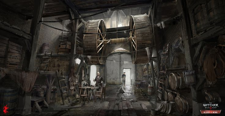 The Witcher 3: Wild Hunt - Blood & Wine Concept Art by Andrzej Dybowski