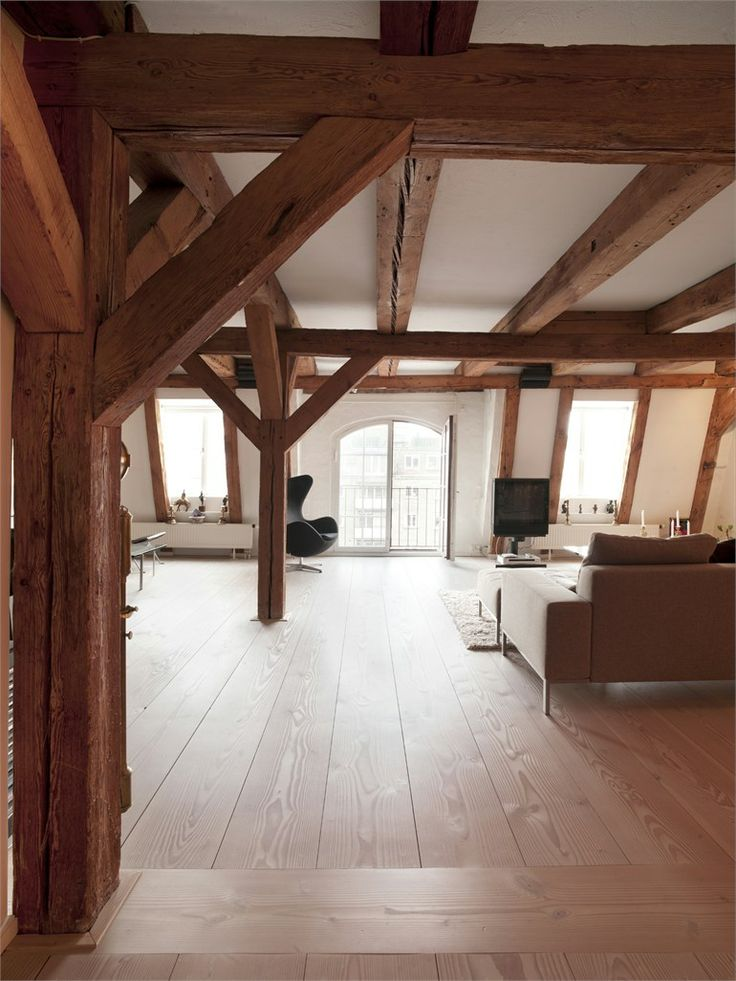 Solid #wood #parquet DOUGLAS by Dinesen #interiors