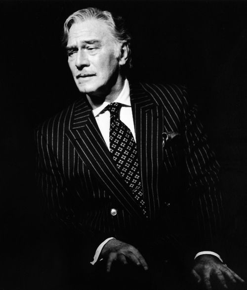 Another style icon, Christopher Plummer. And he still has it if you look at last year's Oscar winning performance in Beginners.
