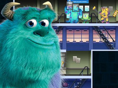 Mike, Sully, and Boo must find Boo's door before Randall finds them!