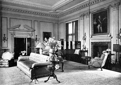 1900 living room late georgian design this is an example of an interior 10969