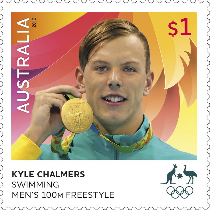 Congratulations to Kyle Chalmers for winning a gold medal in the Men's 100m…