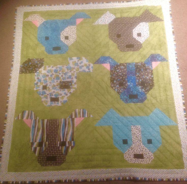 Sew Fresh dog gone quilt for Shelley