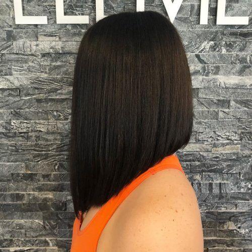 100 Cute Easy Hairstyles For Shoulder Length Hair Shoulder Length Bob Haircut One Length Haircuts One Length Hair