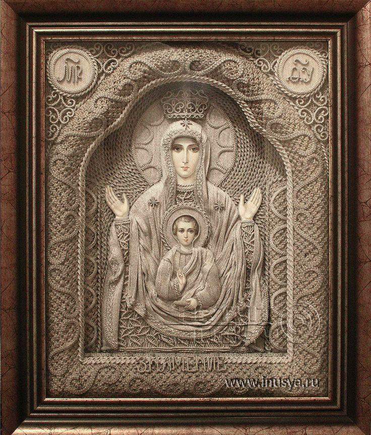 Icon macrame by Vladimir Denshchikov