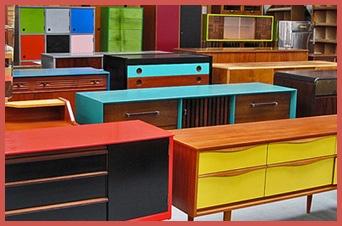 Muebles retro intervenidos deco pinterest - Muebles vintage reciclados ...
