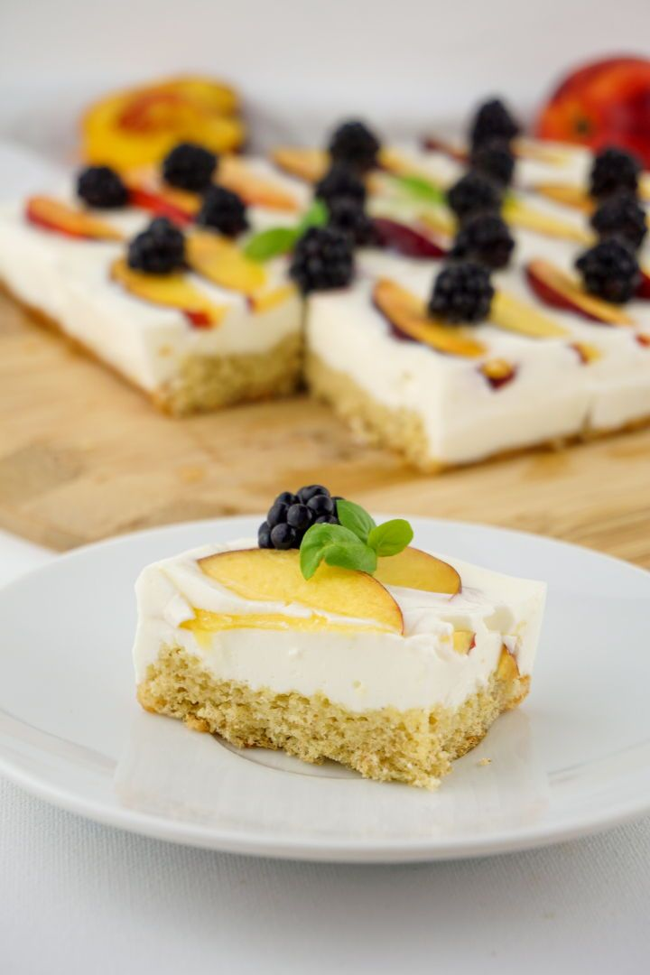 Kalorienarmer Joghurt Quark Kuchen Mit Fruchten Zuckerfreies Rezept Mit Bildern Zuckerfreie Rezepte Zuckerfreie Nachtische