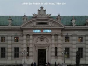 Alfredo Jaar, Cultura = Capitale, #torino, #lucidartista