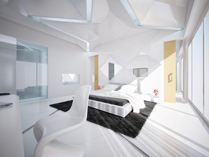 Modern White Bedroom Furniture 12 best white interior wall for bright amazing interior design