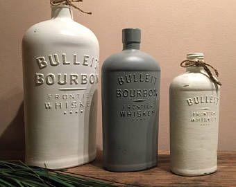 Bulleit bourbon | Etsy